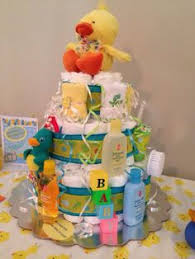 Rubber Ducky Baby Shower Centerpieces by Set Of 3 Rubber Duck Diaper Cakes Rubber Duck Baby Shower