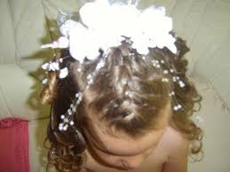coiffure mariage enfant mariage enfant