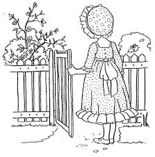 kids fun coloring pages girls