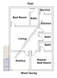 house layout design as per vastu west facing house plan 7 vasthurengan com