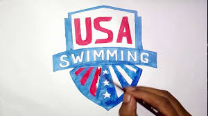 Swimming Logo Design by How To Draw The Usa Swimming Logo Youtube