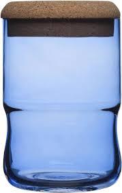 amazon com seaglasbruk aqua jar with cork lid blue canning jars