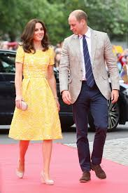 kate middleton dresses kate middleton yellow packham dress in germany popsugar