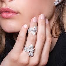ribbon ring silver christmas ribbon ring apm 00 610 apm monaco