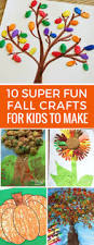 10 easy fall crafts for kids to make and other fall activities