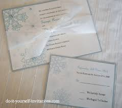 snowflake wedding invitations printable snowflake wedding invitations template print and create