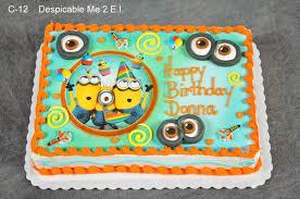 minions cake walmart minions birthday cake throughout minion birthday cake