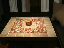 diy mosaic tile table top how to make a mosaic tile table