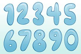 5 best images of printable bubble numbers 2 bubble letter number