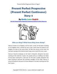 printable worksheets english tenses english esl story in the present progressive tense printable story