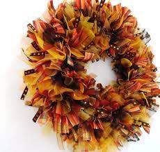 fall ribbon 25 best fall ribbon wreath ideas on burlap wreaths