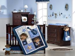 baby nursery decor musical theme blue colored with wooden