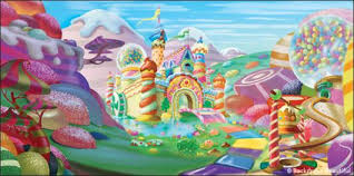 candyland castle candyland backdrop 1 backdrops beautiful