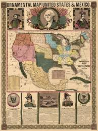 Map Of United States And Mexico by Vintage Maps Of The United States The Vintage Map Shop The