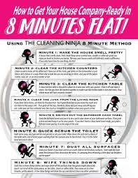 how to clean a house how to get your house ready for unexpected company in 8 minutes