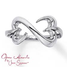 sterling silver hearts bracelet images Kay open heart ring sterling silver jpg