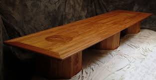 Oak Boardroom Table Inlaid Solid Wood Conference Tables