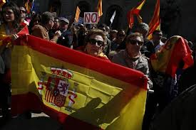 I don     t want independence  I     m Spanish       Thousands rally        The Local Spain