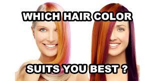 which hair color suits you best quiz quizony com