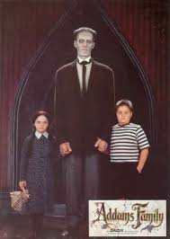 Addams Family Halloween Costumes Addams Family Photo Wednesday Lurch Pugsley Wednesday