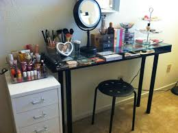 makeup vanity table without mirror black vanity table without mirror art decor homes vintage black