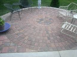 paver patio kits large size of pad area circular with fire pit