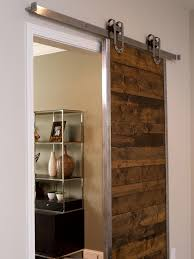 interior barn doors for homes outstanding reclaimed wooden single sliding barn doors for homes