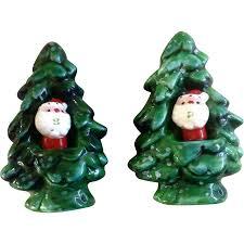 vintage christmas holt howard winter green salt u0026 pepper with