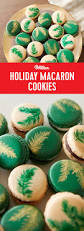 holiday macaron cookies these festive decorated macaron cookies