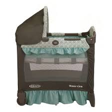 graco baby travel lite portable crib with bassinet winslet 1852645
