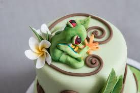 sugarpaste frangipani tutorial debs makes cakes