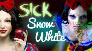 Dead Snow White Halloween Costume Sick Snow White Makeup Tutorial Glam U0026 Gore Disney Princess