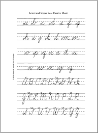 cursive worksheets a z free worksheets library download and