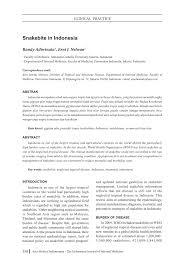 Serum Ular clinical practice 358 acta medica pdf available