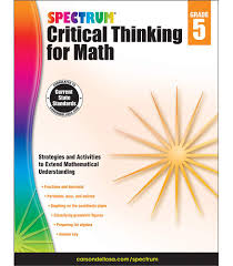 spectrum critical thinking for math workbook grade 5 carson