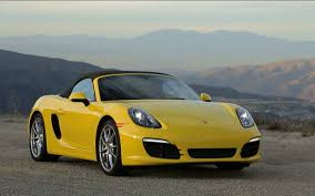 Porsche Boxster Yellow - focusing on fun with the 2013 porsche boxster s on ignition