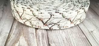 realtree camo ribbon 7 8 white camo ribbon snow camo ribbon ribbon