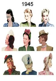 1940s hair accessories 1940 1945 pictures of hairstyles and hats in 1940s fashion history