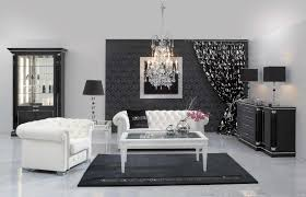 living room elegant black and white living room chairs and white