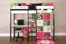 Metal Bunk Bed With Desk Bunk Beds With Desk And Stairs In Home Accessories Tags Metal Bunk