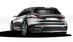 peugeot cars 2013 peugeot 308 r concept transport auto sketch exterior automotive