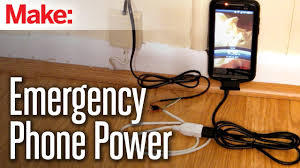 diy hack diy hacks how to s emergency power from a land line youtube