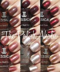 the polishaholic jessica fall 2012 spicy dream collection swatches