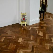 x 350mm prime unfinished engineered black walnut parquet