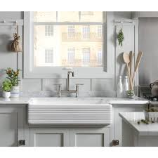 Lowes Apron Front Sink kitchen enchanting kohler farmhouse sink for your modern kitchen