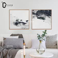 aliexpress com buy rivers black and white abstract oil painting