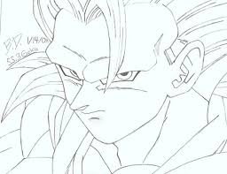 pictures dragon ballz drawing colourful step step drawing