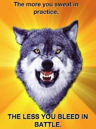 Angry Wolf Meme - the most inspirational courage wolf memes smosh