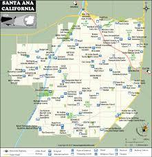 santa california map santa city map santa california map