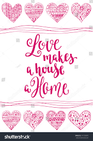 valentines day quote romantic saying posters stock vector